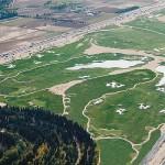 Vista panorámica del campo de golf de El Encin